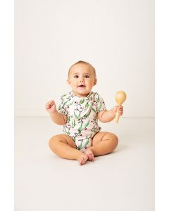 Baby Gifts online Australia | Short Sleeve Onesie | Blossoms |