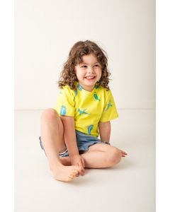 Kingfisher | short sleeve | Kids Fashion Tee | Organic Cotton