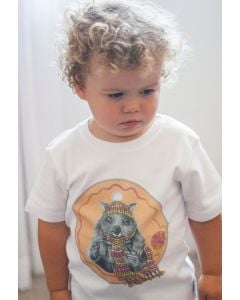 Organic Children's Tshirts | Wombat | Short Sleeve | Walter | Sale